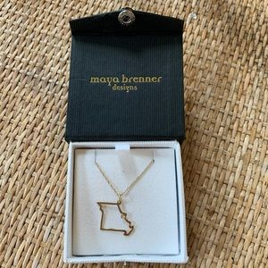 Maya Brenner Designs 14K Gold Missouri Necklace
